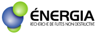 Énergia : recherche de fuites non destructive Logo