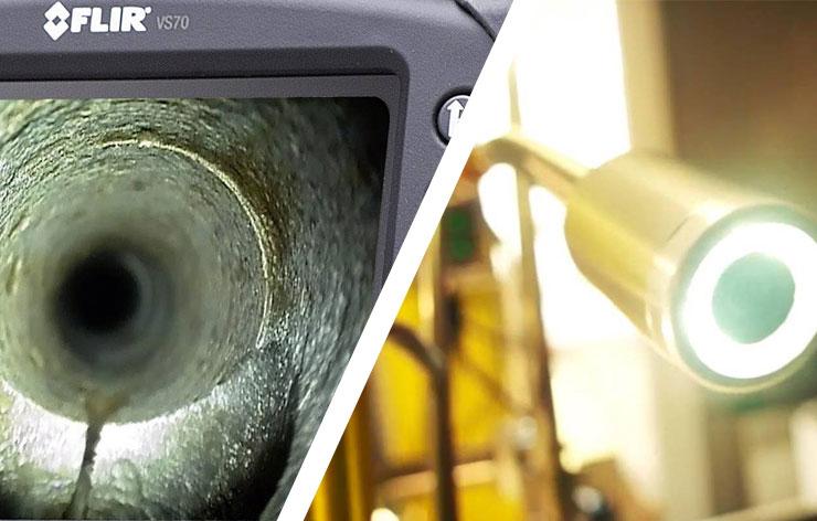 Méthode par endoscopie - Énergia : recherche de fuites non destructive