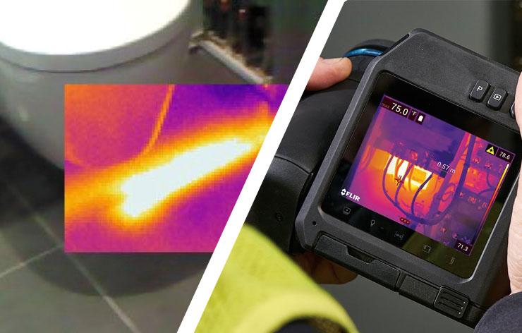 Méthode thermographie - Énergia : recherche de fuites non destructive